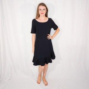 HD in Paris Black Marcelline Flounce Dress ANTHRO